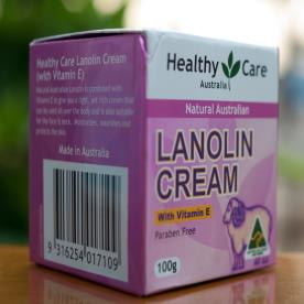 Kem nhau thai cừu Healthy Care Natural Lanolin Vitamin E