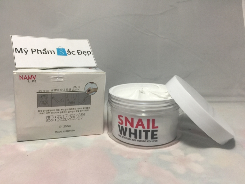 Kem Snail White body lotion-1