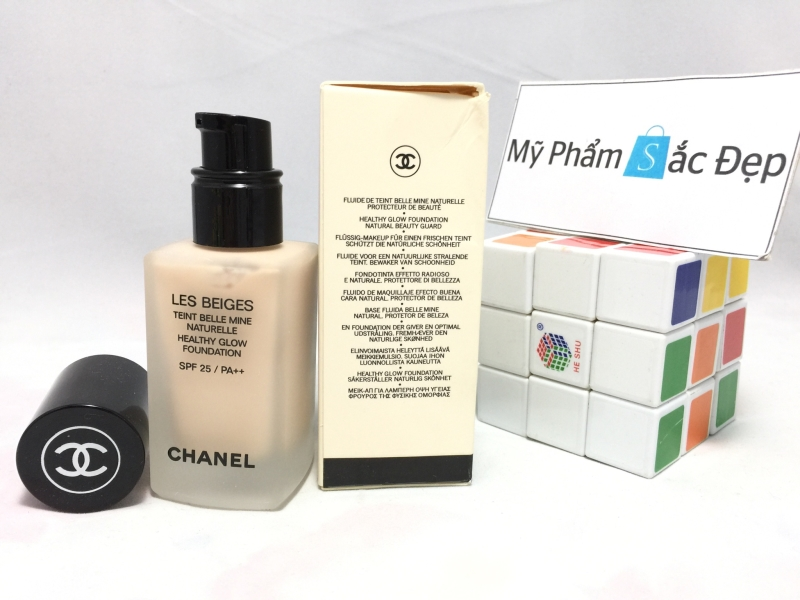 Kem nền Chanel Les Beiges Healthy Glow Foundation-2