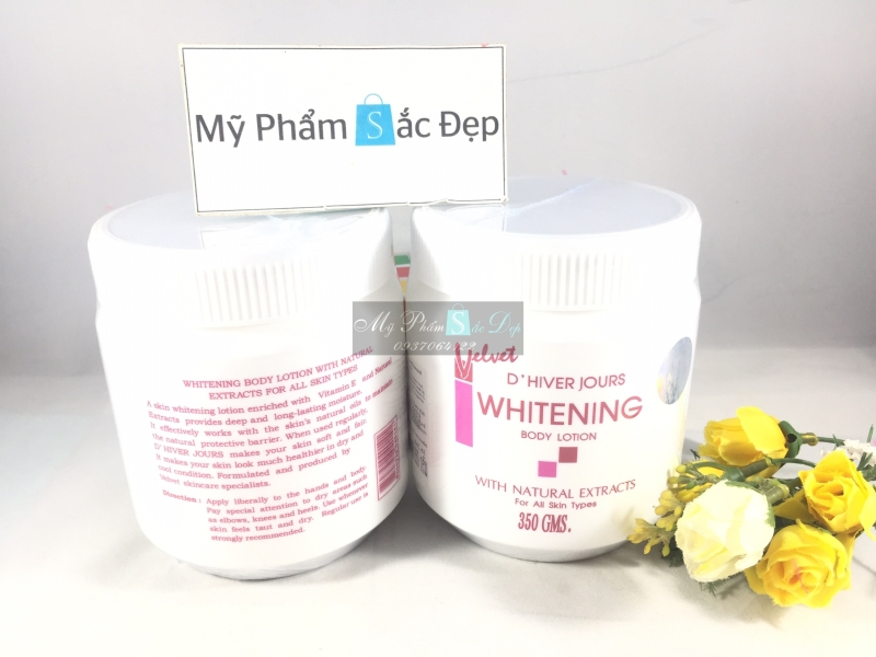 Kem body Velvet Whitening-3