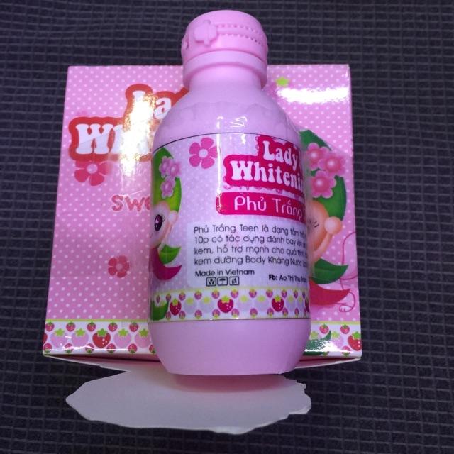 Kem dưỡng phủ trắng da Lady whitening giá tốt tại tphcm - 02