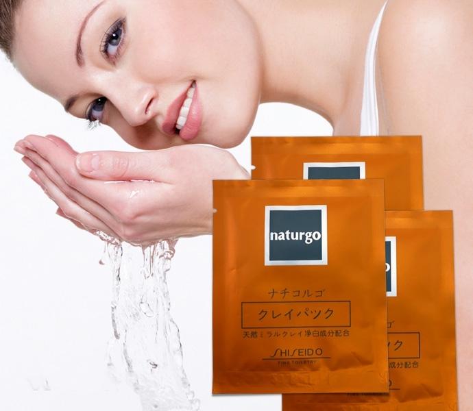 mặt nạ dạng lột bùn non shiseido naturgo tại tphcm - 01