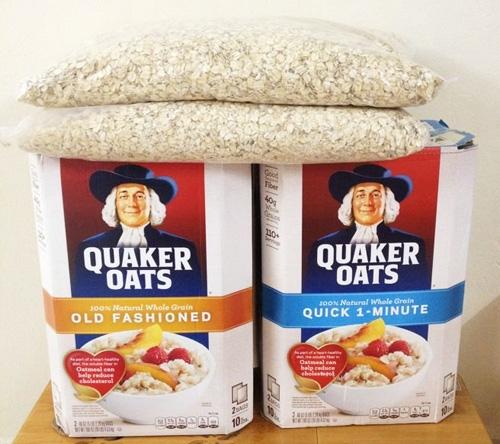 Bột yến mạch giảm cân quaker oats nhập khẩu từ mỹ tại tphcm - 01
