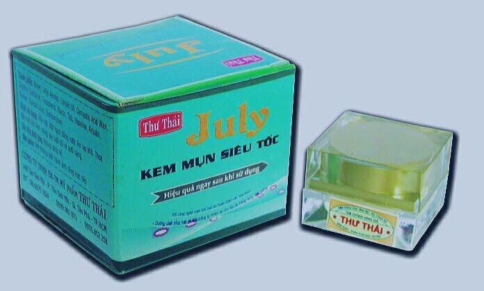 Kem trị mụn siêu tốc july tinh chất trà xanh của Thư Thái tại tphcm - 01