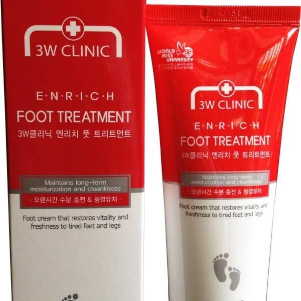 Kem trị nứt gót chân của Hàn Quốc 3w clinic enrich foot treatment - 03