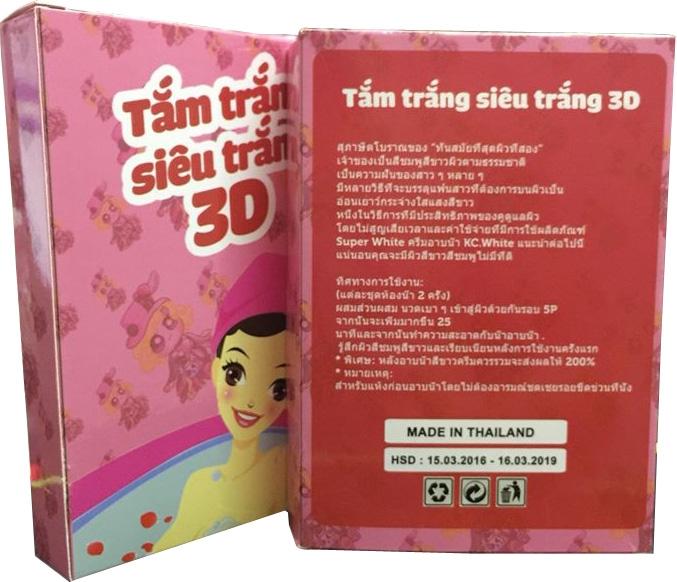 Tắm trắng siêu trắng 3d hàng Thái Lan giá sỉ tại tphcm - 02