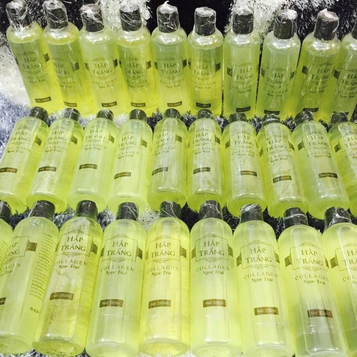 Gel hấp trắng collagen ngọc trai giá tốt tại tphcm