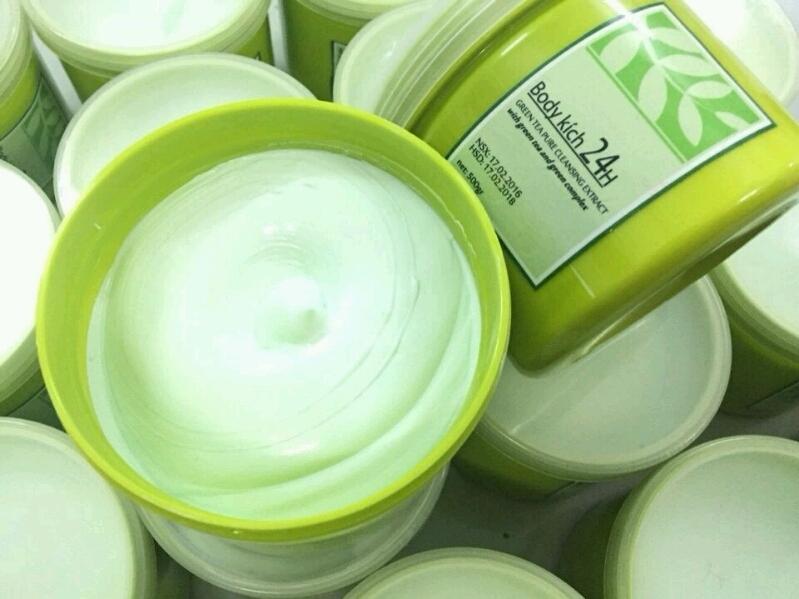 Kem dưỡng kích trắng trà xanh 24h giá sỉ tại tphcm - 03