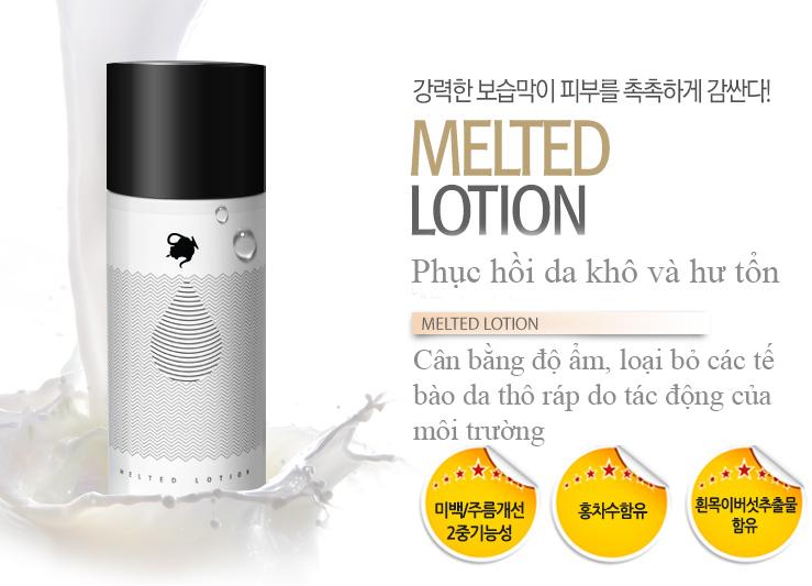 Sữa dưỡng ẩm cho da khô Milky Dress Melted hàn quốc Lotion tại tphcm - 01