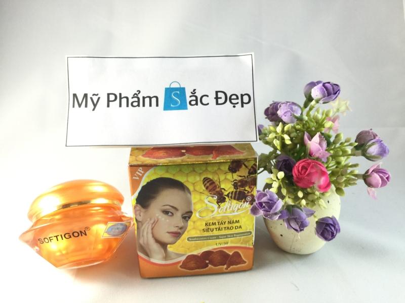 Kem tẩy nám siêu tái tạo da của Softigon giá tốt nhất tphcm - 02