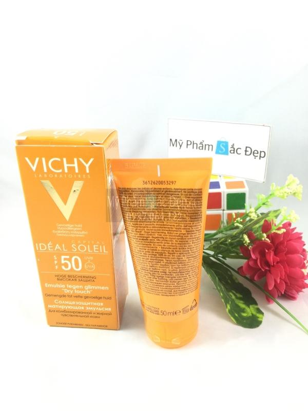 Kem chống nắng Vichy SPF50 xuất xứ Pháp 50ml giá rẻ ở quận 9 tphcm-03