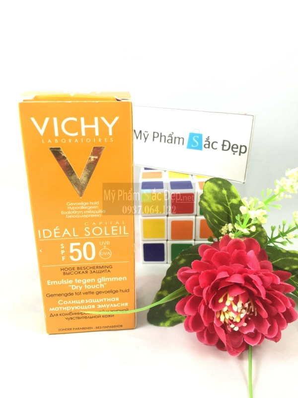 Kem chống nắng Vichy SPF50 xuất xứ Pháp 50ml giá rẻ ở quận 9 tphcm-01
