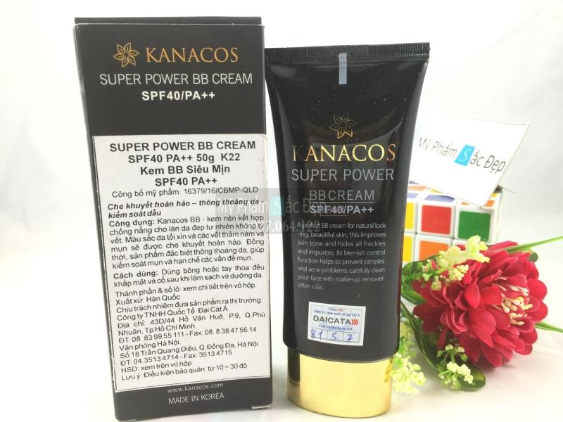 Kem BB siêu mịn Kanacos super power SPF40 PA++ 50g giá rẻ ở tphcm-03
