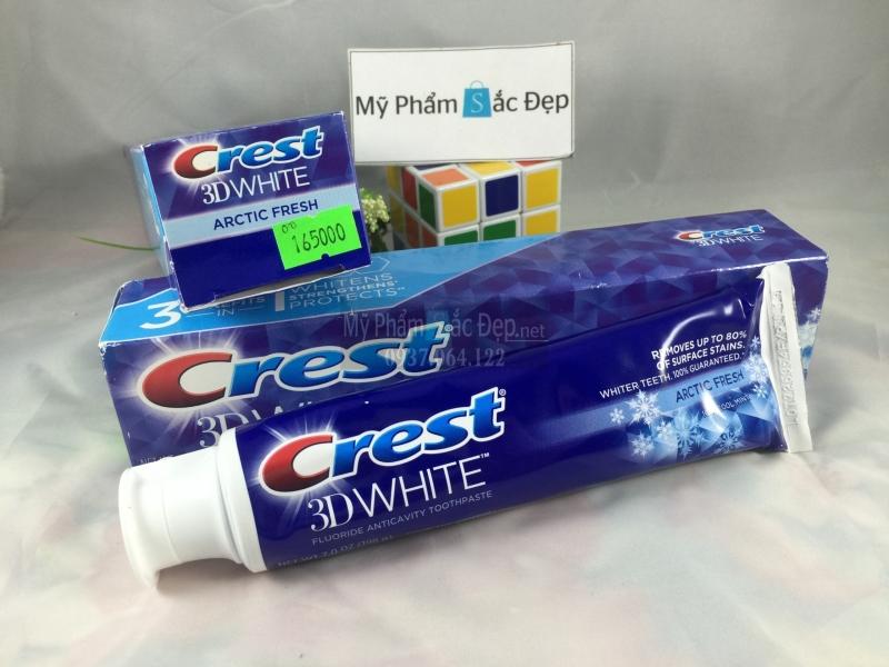 Kem đánh răng làm trắng răng Crest 3D white 198g giá tốt ở tphcm-03