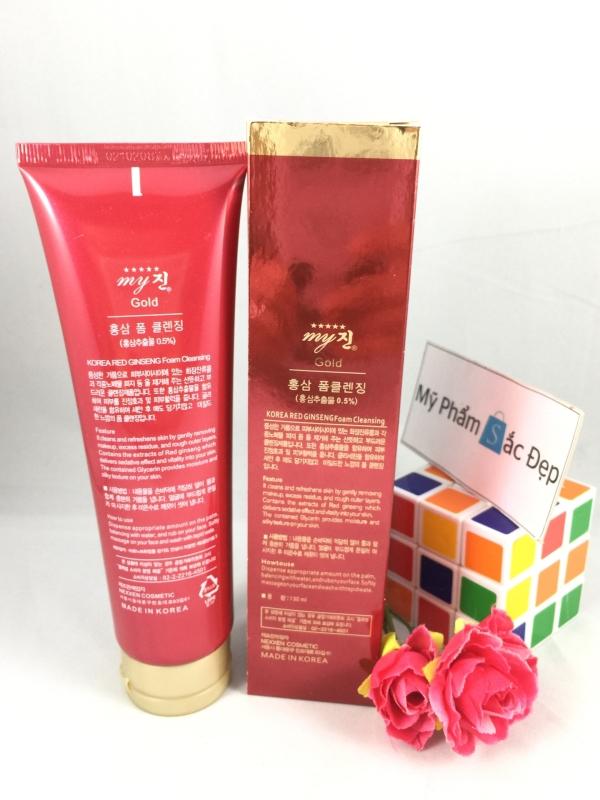 Sữa rửa mặt sâm đỏ My Gold của Hàn Quốc chính hãng giá tốt nhất tphcm - 01
