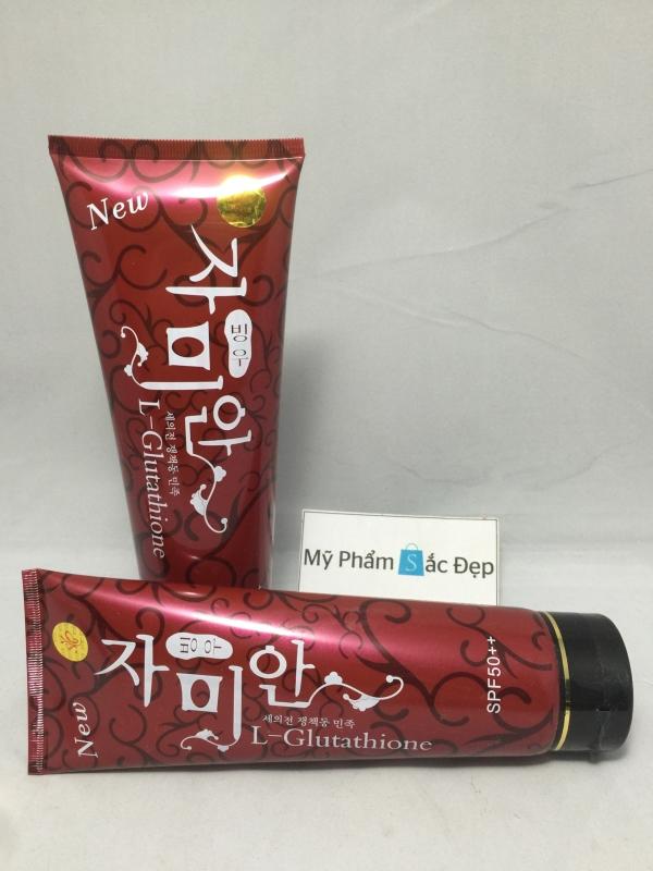 Kem dưỡng trắng da Hàn Quốc lotion L-Glutathione SPF 50 giá tốt tphcm - 03
