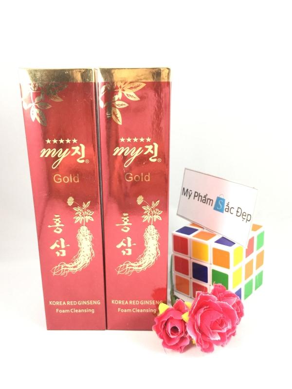 Sữa rửa mặt sâm đỏ My Gold của Hàn Quốc chính hãng giá tốt nhất tphcm - 02
