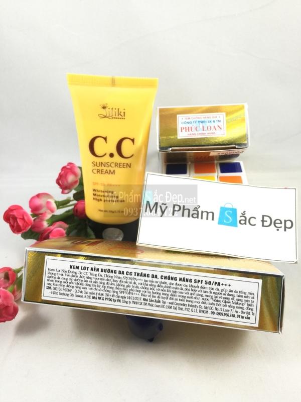 Kem lót Liliki CC Sunscreen Cream dưỡng da chống nắng giá tốt tphcm - 02