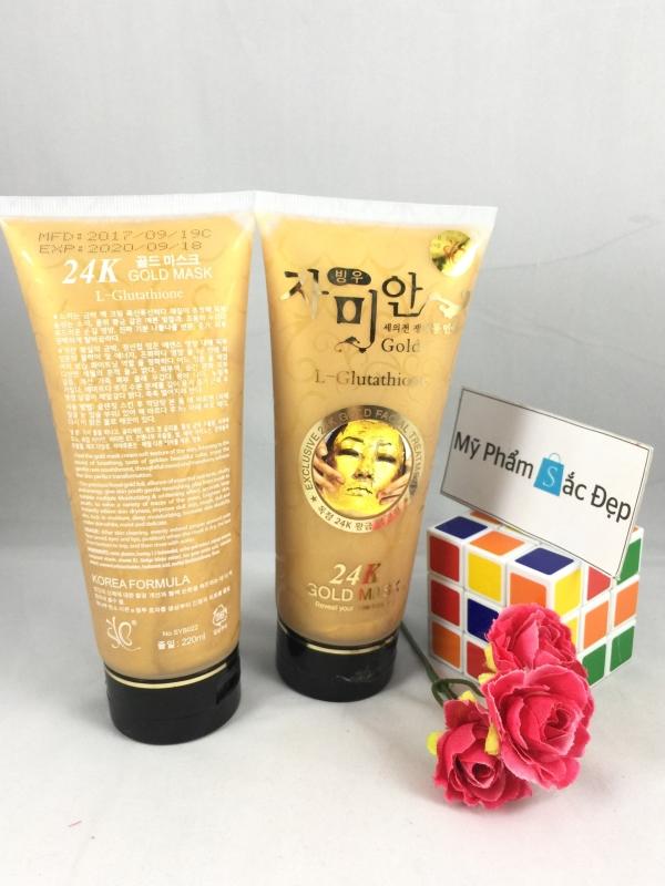 Gel đắp mặt nạ vàng 24k của Hàn Quốc 220ml giá tốt nhất tại tphcm - 03
