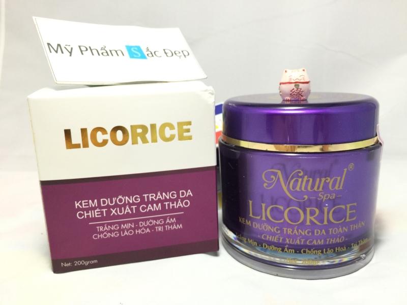 Kem dưỡng trắng da licorice natural spa cam thảo giá tốt nhất tphcm - 02