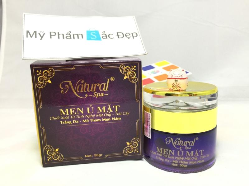 Men ủ mặt từ tinh nghệ mật ong và trái cây Natural Spa giá tốt tphcm - 01