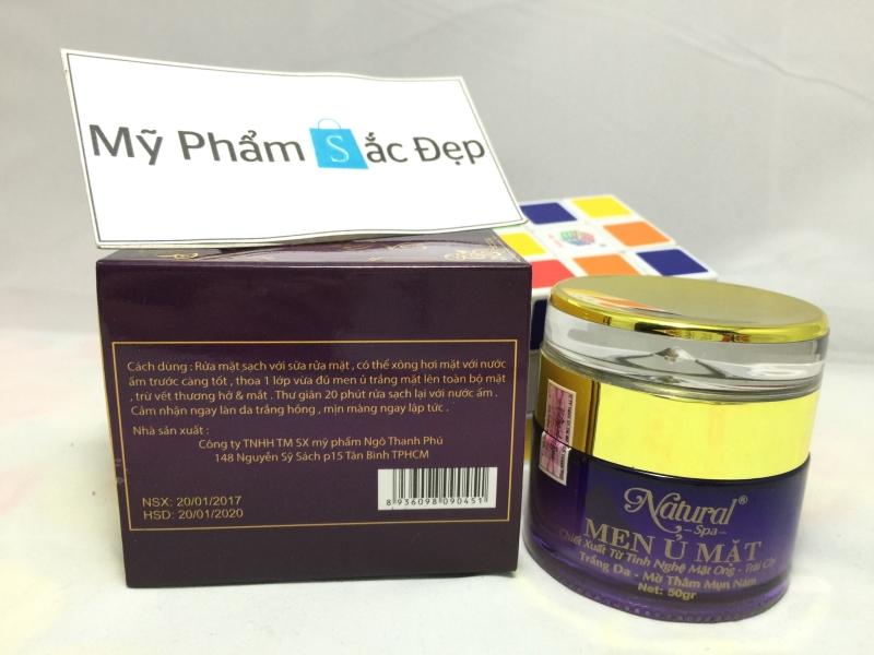 Men ủ mặt từ tinh nghệ mật ong và trái cây Natural Spa giá tốt tphcm - 02