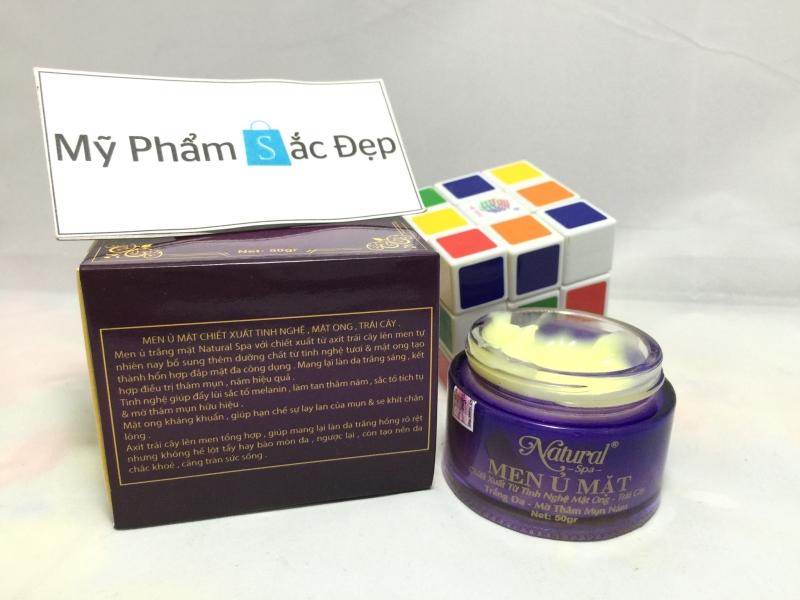 Men ủ mặt từ tinh nghệ mật ong và trái cây Natural Spa giá tốt tphcm - 03