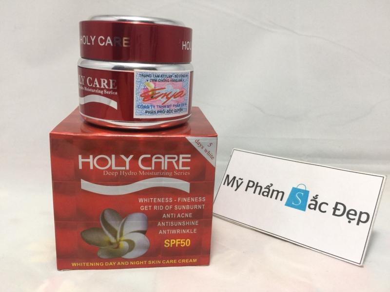 Kem dưỡng trắng ngày và đêm holy care đỏ 5 tác dụng chính hãng tphcm - 03