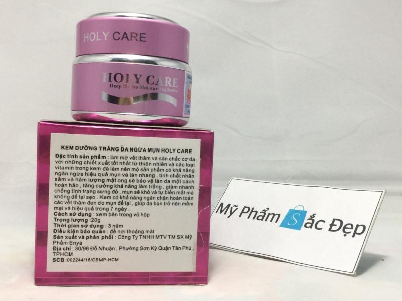 Kem dưỡng trắng da ngừa mụn mở vết thâm Holy Care hồng tại tphcm - 01