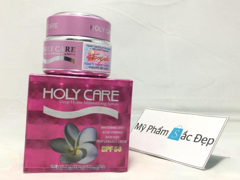 Kem dưỡng trắng da ngừa mụn mở vết thâm Holy Care hồng tại tphcm - 03
