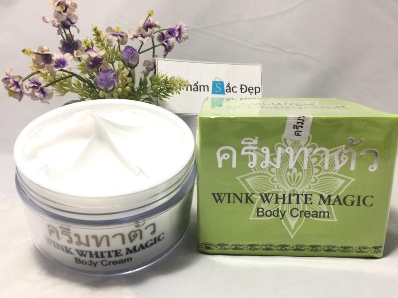 Kem dưỡng trắng da Wink White Magic body cream Thái Lan giá sỉ tphcm - 01