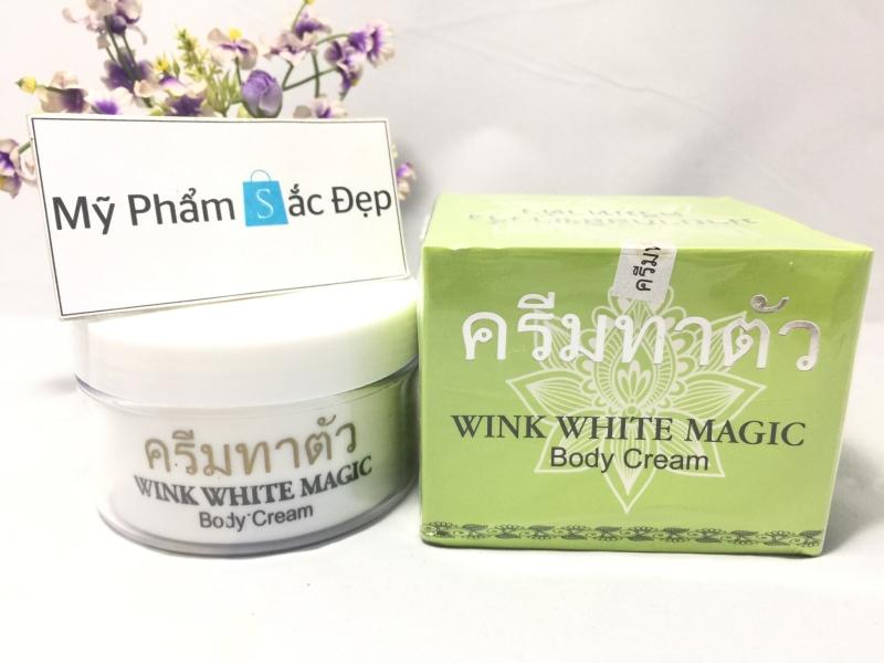 Kem dưỡng trắng da Wink White Magic body cream Thái Lan giá sỉ tphcm - 02