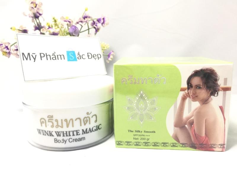 Kem dưỡng trắng da Wink White Magic body cream Thái Lan giá sỉ tphcm - 03