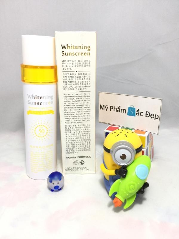 Kem chống nắng whitening sunscreen SPF 50 PA Hàn Quốc giá tốt tphcm - 02