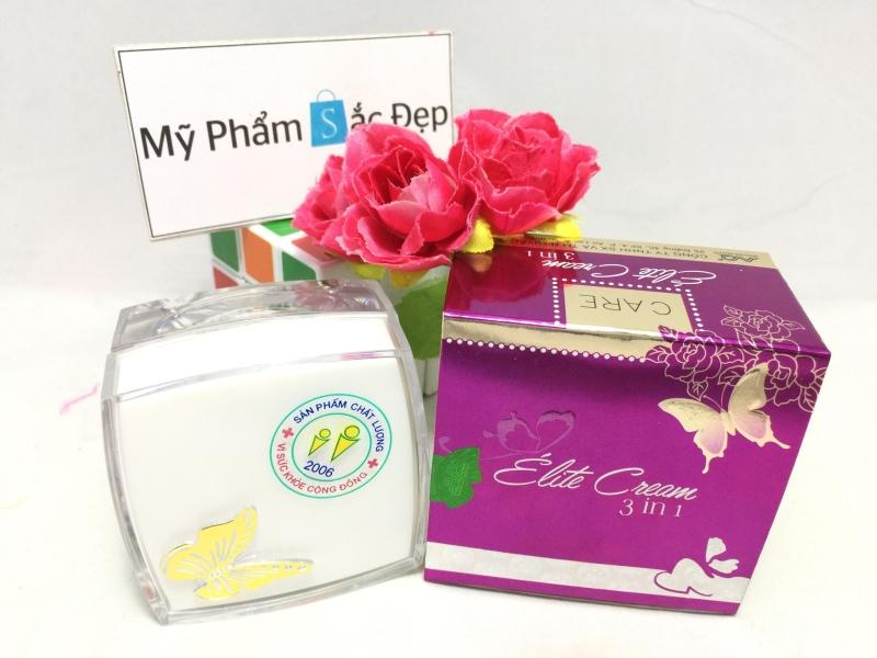 Kem con bướm ngừa mụn nám tái tạo da Elite Cream 3 in 1 giá rẻ tphcm - 03