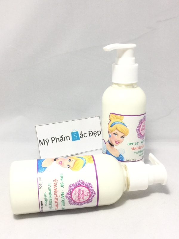 Sữa dưỡng thể trắng da chống lão hóa princess whitening hàng Thái Lan - 01