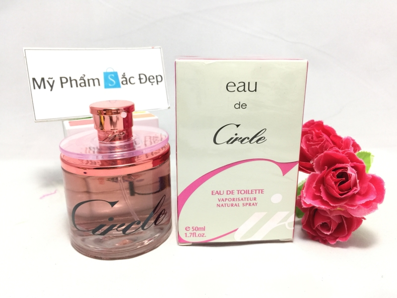 Bán nước hoa nữ Eau de Circle 50ml màu hồng giá tốt nhất tại tphcm - 02
