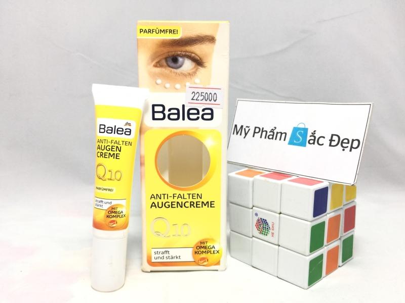 Kem chống nhăn da mắt tuổi 30 Balea Q10 của Đức giá tốt nhất tphcm - 01
