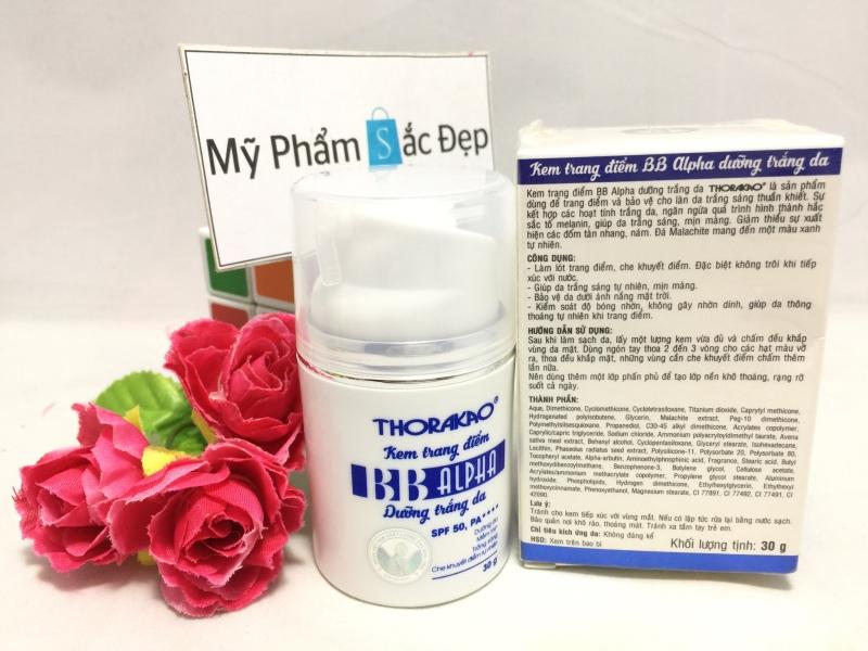 Kem trang điểm Thorakao BB Alpha dưỡng trắng da 30g giá tốt nhất tphcm - 01