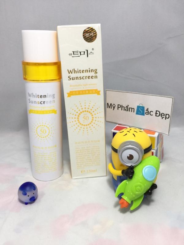 Kem chống nắng whitening sunscreen SPF 50 PA Hàn Quốc giá tốt tphcm - 03