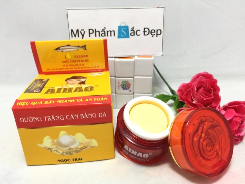 Kem Aihao dưỡng trắng cân bằng da ngọc trai 3 in 1 chính hãng tphcm - 01