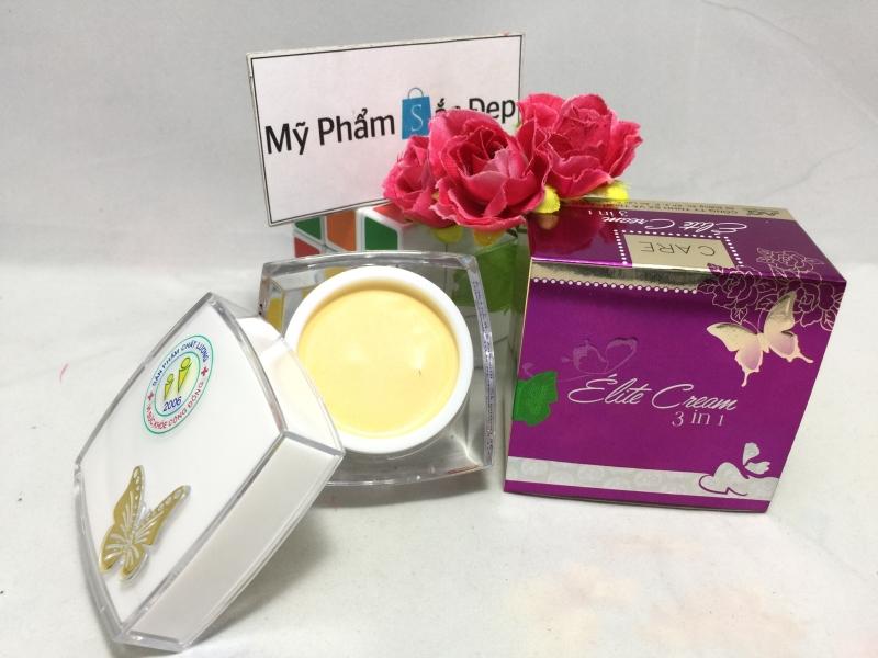 Kem con bướm ngừa mụn nám tái tạo da Elite Cream 3 in 1 giá rẻ tphcm - 01