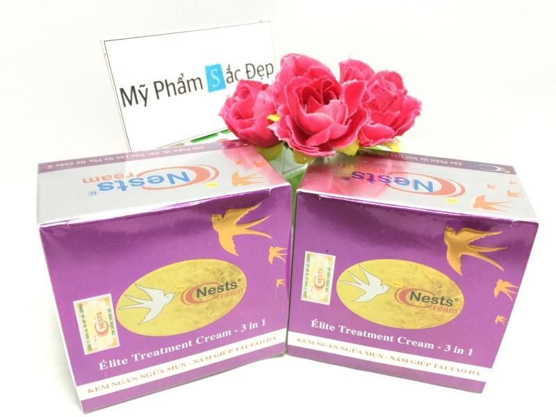 Kem ngăn ngừa mụn nám tái tạo da Nests Cream chính hãng giá tốt tphcm - 02