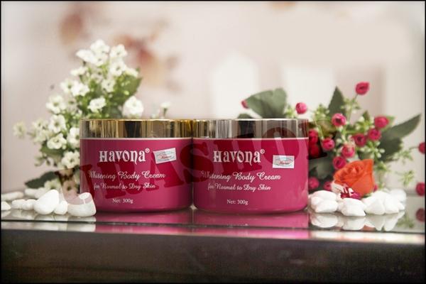 Kem dưỡng siêu trắng da toàn thân HAVONA Whitening giá tốt nhất tphcm - 03