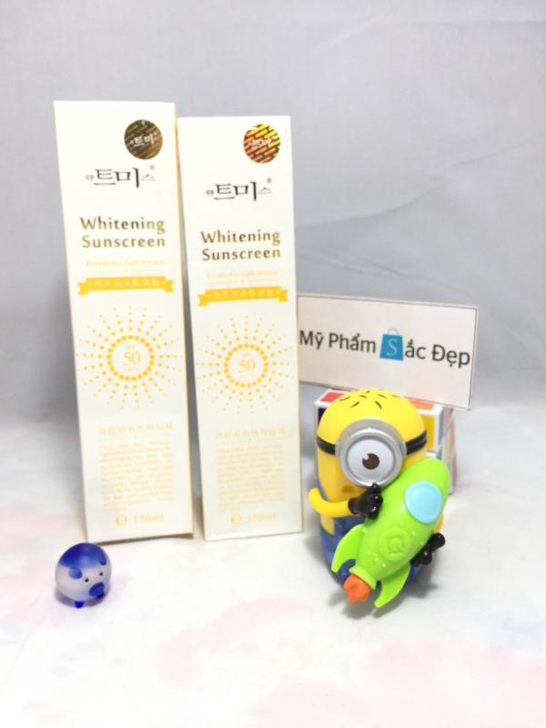 Kem chống nắng whitening sunscreen SPF 50 PA Hàn Quốc giá tốt tphcm - 01