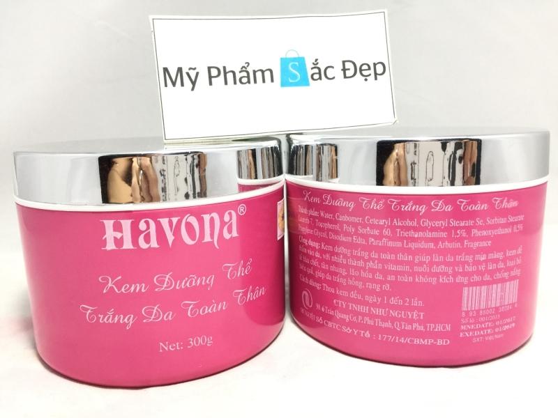 Kem dưỡng siêu trắng da toàn thân HAVONA Whitening giá tốt nhất tphcm - 02