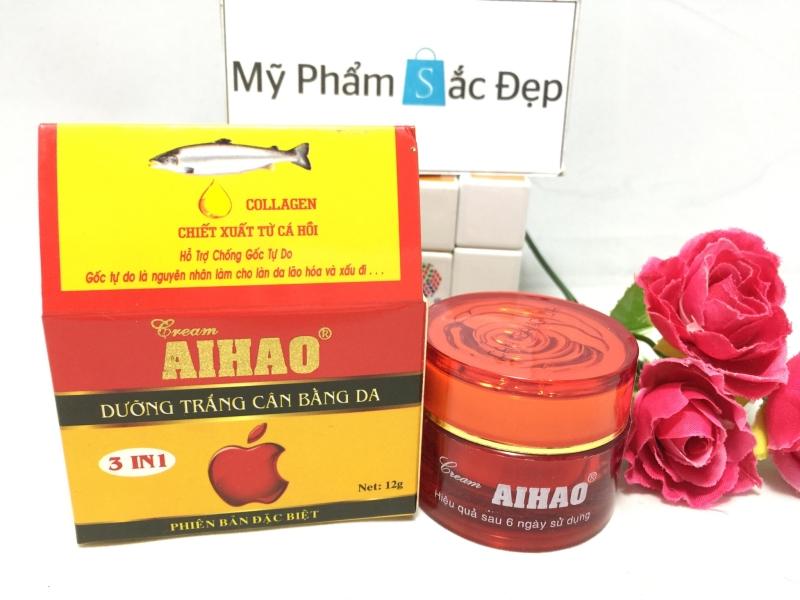 Kem Aihao dưỡng trắng cân bằng da ngọc trai 3 in 1 chính hãng tphcm - 02
