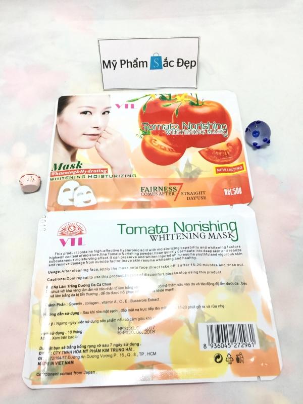 Miếng đắp mặt nạ cà chua Tomato Norishing trắng da giá sỉ tại tphcm - 01