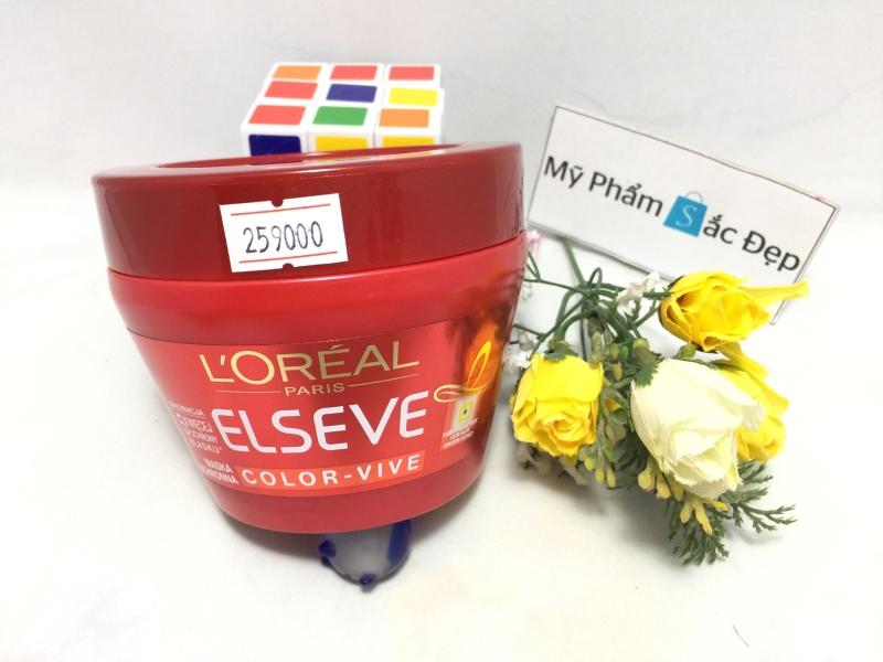 Kem ủ tóc Loreal Paris Elseve của Pháp hàng chính hãng giá tốt tphcm e- 03
