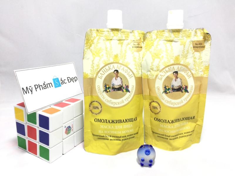 Mặt nạ sữa non bà già Agafia Nga phân phối giá sỉ tốt nhất tại tphcm - 01